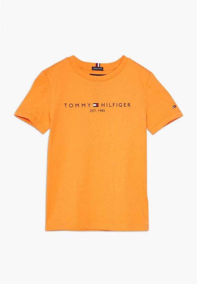 ESSENTIAL TEE - T-shirt print - orange