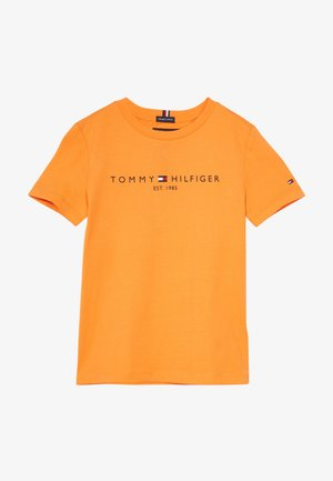 ESSENTIAL TEE - Triko spotiskem - orange