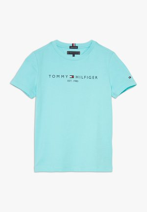 ESSENTIAL TEE - Print T-shirt - blue