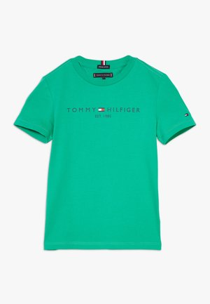 ESSENTIAL TEE - T-shirt z nadrukiem - green