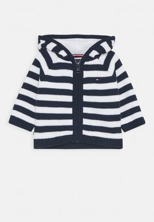 BABY STRIPE CARDIGAN - Vest - blue