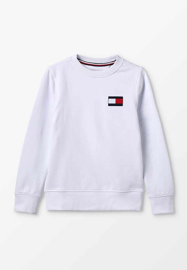 Tommy Hilfiger - FLAG - Sweatshirt - white