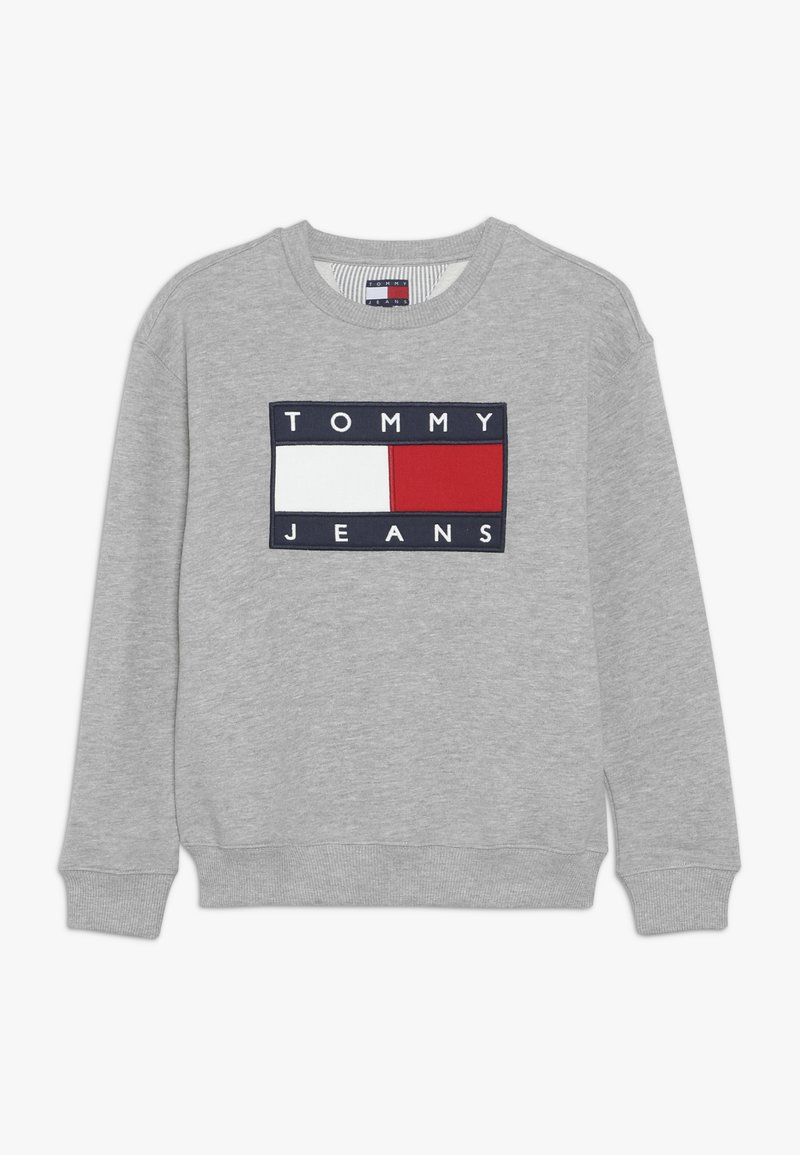 Tommy Hilfiger - UNISEX FLAG  - Sweatshirt - light grey heather