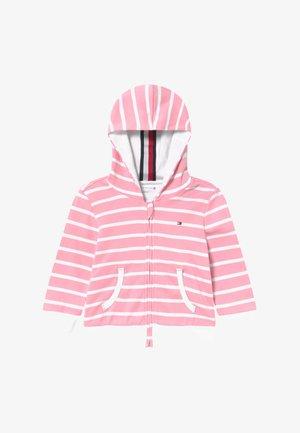 BABY STRIPE - Kardigan - pink
