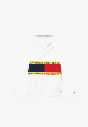 FLAG CREW HOODY - Sweat à capuche - white
