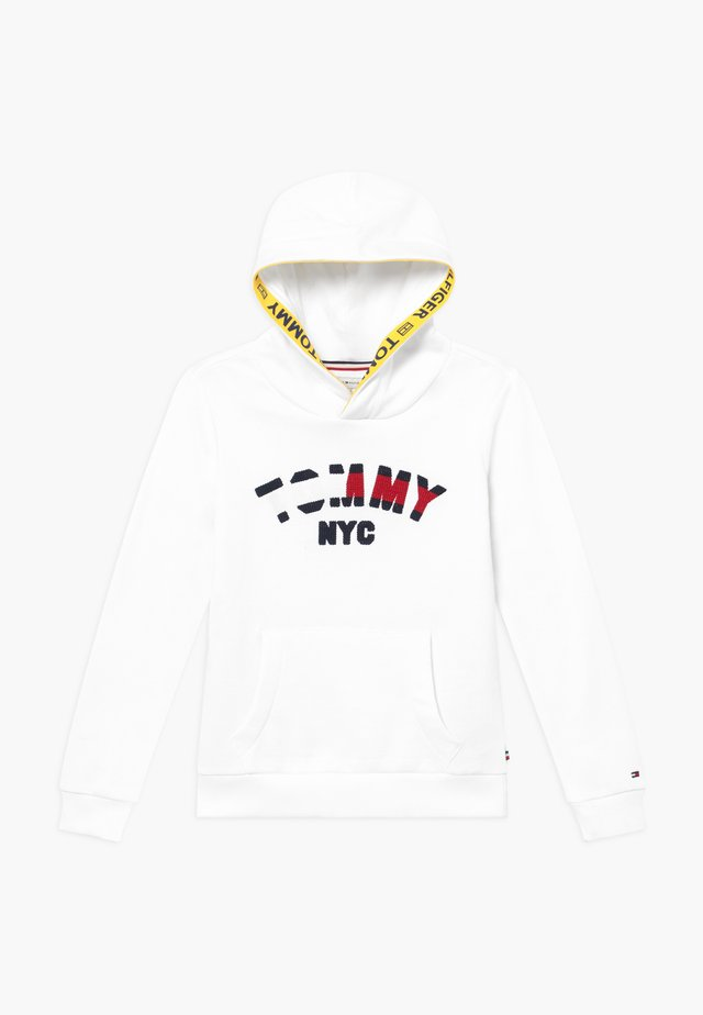GRAPHIC HOODED - Hoodie - white