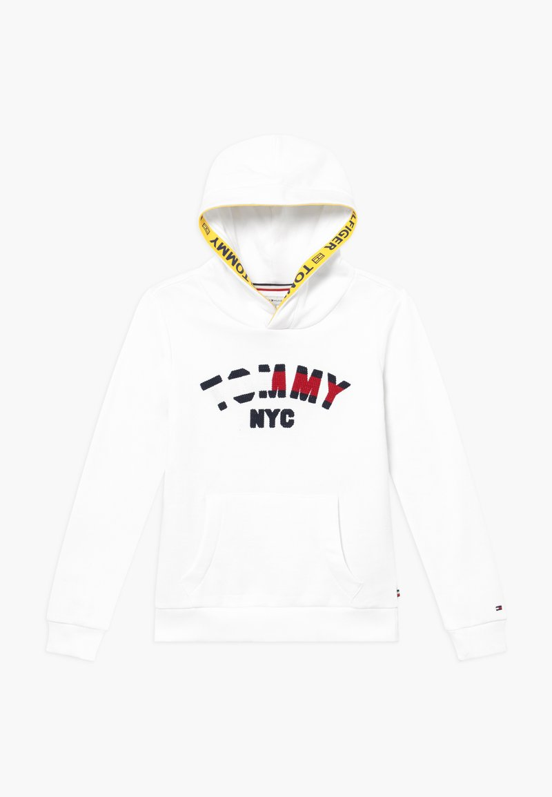 Tommy Hilfiger - GRAPHIC HOODED - Hoodie - white