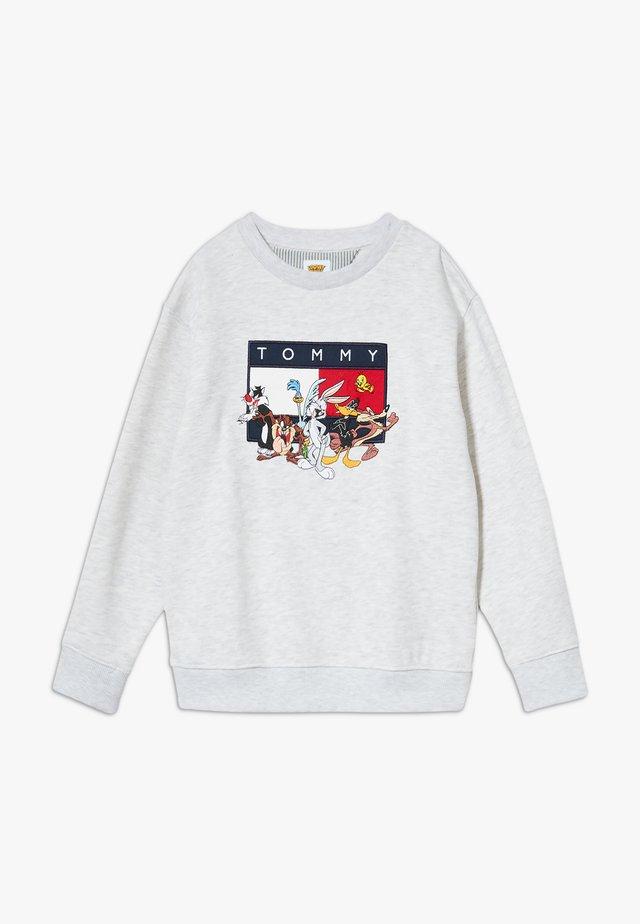 LOONEY TUNES CREW - Sweatshirt - grey