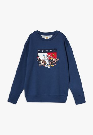 LOONEY TUNES CREW - Sweatshirt - blue