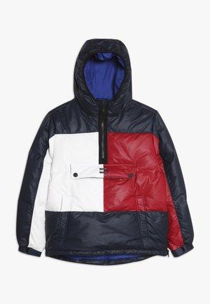 UNISEX PUFFER POPOVER - Zimní bunda - navy blazer/multi