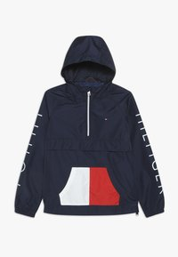 Tommy Hilfiger - POP-OVER JACKET - Giacca da mezza stagione - blue - 0