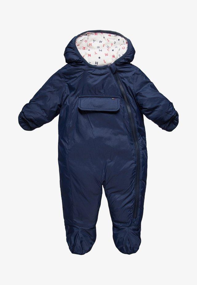 BABY SKISUIT - Snowsuit - black iris