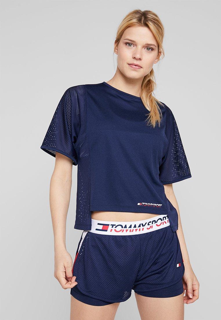 Tommy Sport - TEE - Camiseta estampada - navy