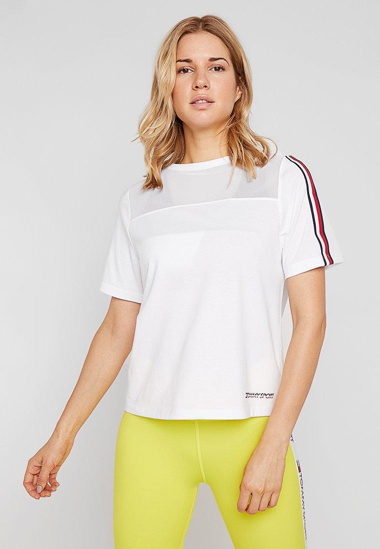 Tommy Sport - TEE - Camiseta estampada - white