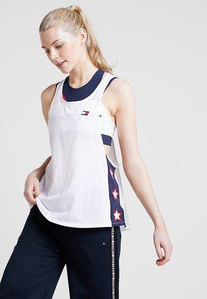 TANK OVERSIZED - T-shirt de sport - white