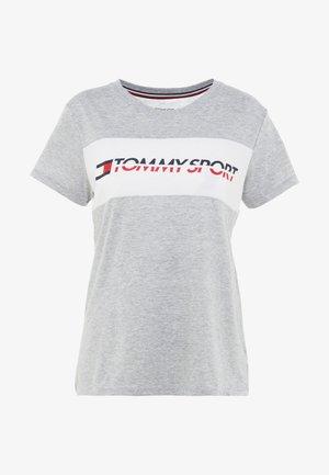 LOGO DRIVER TEE  - Camiseta estampada - grey