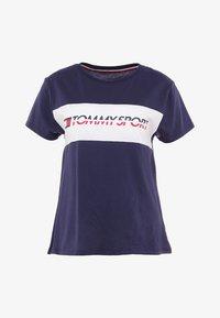 Tommy Sport - LOGO DRIVER TEE  - T-shirt imprimé - sport navy - 3