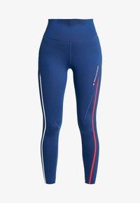 Tommy Sport - HIGH WAIST - Leggings - blue - 4