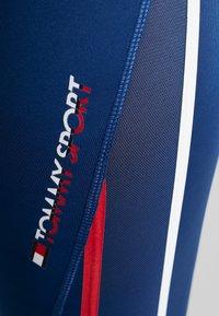 Tommy Sport - HIGH WAIST - Leggings - blue - 5