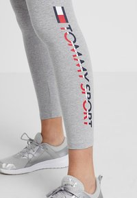 Tommy Sport - Leggings - grey heather - 5
