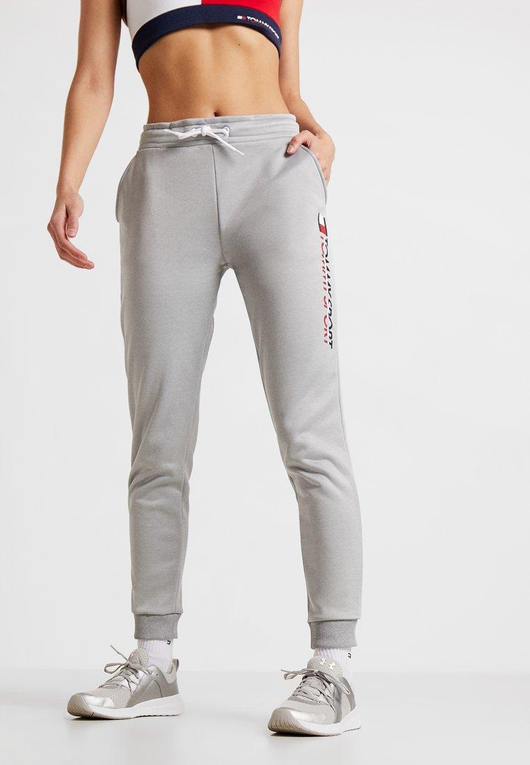 Tommy Sport - LOGO - Pantalones deportivos - grey heather