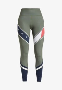 Tommy Sport - LEGGING WITH STARS  - Collants - green - 4