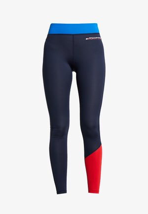 LEGGING WITH PANEL  - Tights - princess blue