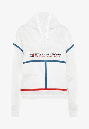 PACKABLE CAGOULE - Veste de survêtement - white