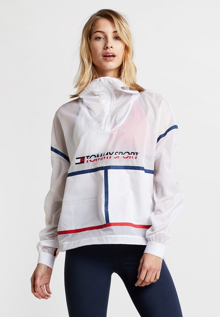 Tommy Sport - PACKABLE CAGOULE - Trainingsjacke - white