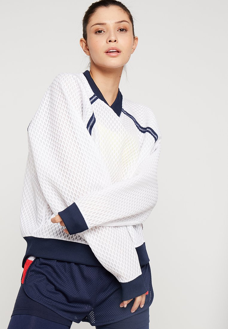 Tommy Sport - PULL OVER - Sweatshirt - white