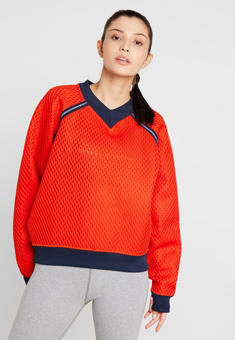 Tommy Sport - PULL OVER - Sweatshirt - cherry tomato