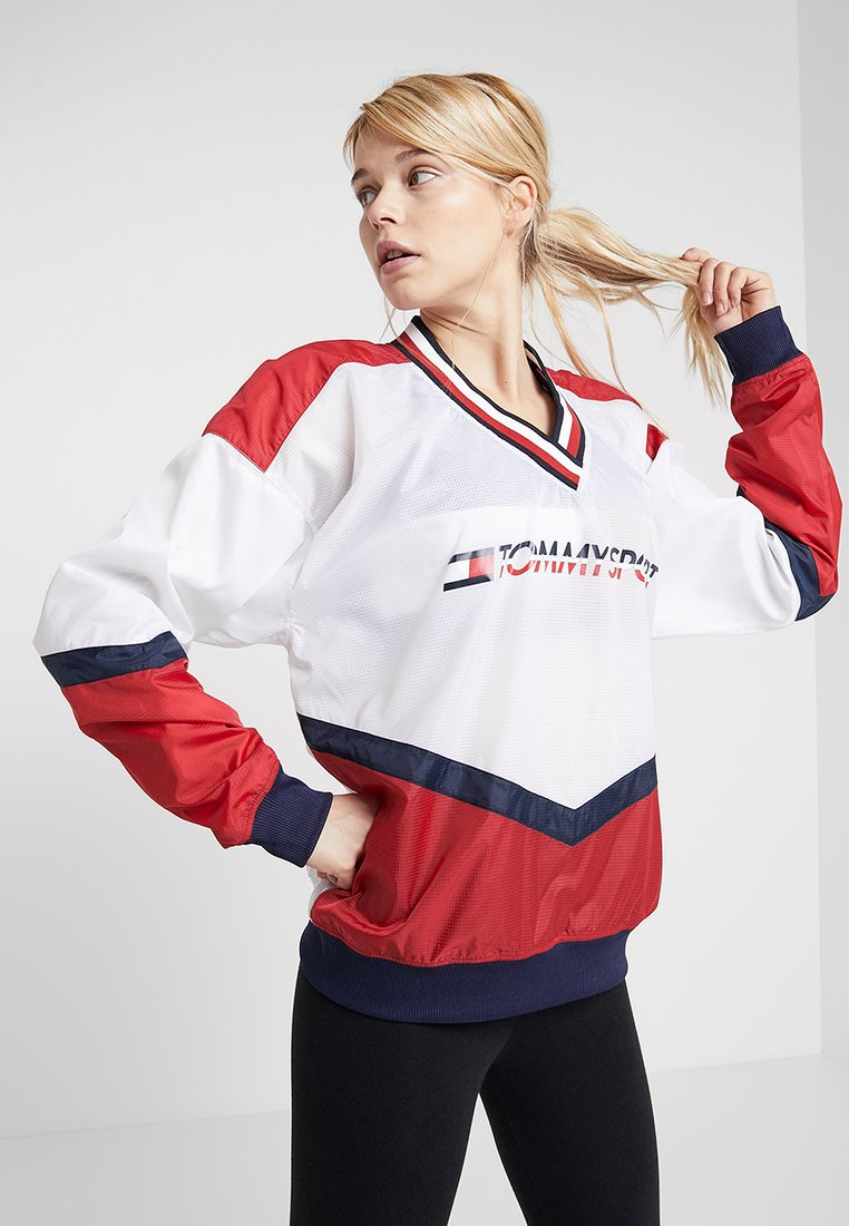 Tommy Sport - JACKET - Veste coupe-vent - true red