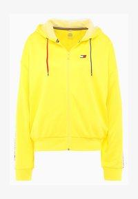 blazing yellow