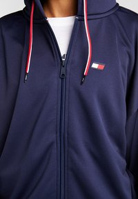 Tommy Sport - FULL ZIP HOOD - Hettejakke - navy - 5