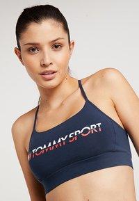 Tommy Sport - BRALETTE - Sport BH -  navy - 3