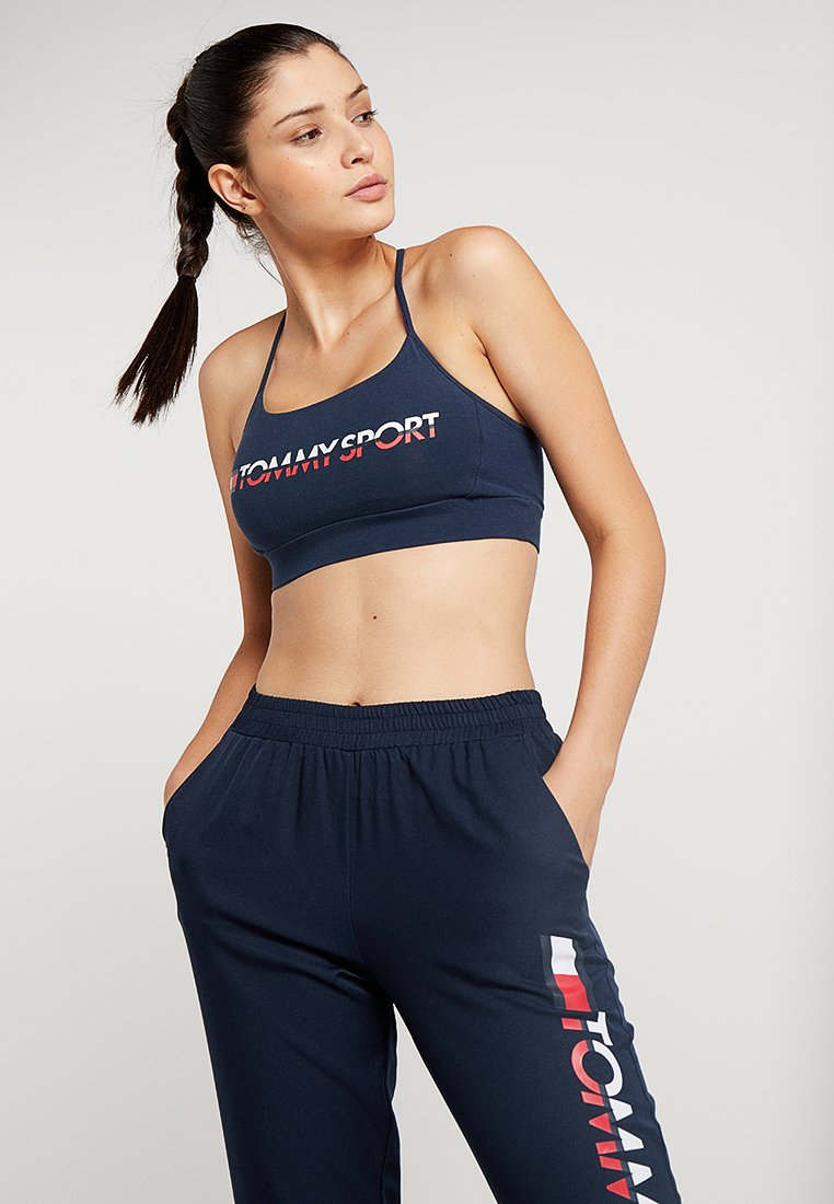 Tommy Sport - BRALETTE - Sport BH -  navy