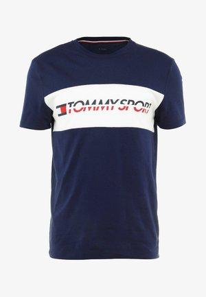 LOGO DRIVER - T-shirt imprimé - navy