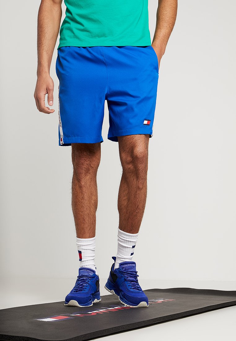 Tommy Sport - SHORTS TAPING - Pantalón corto de deporte - princess blue
