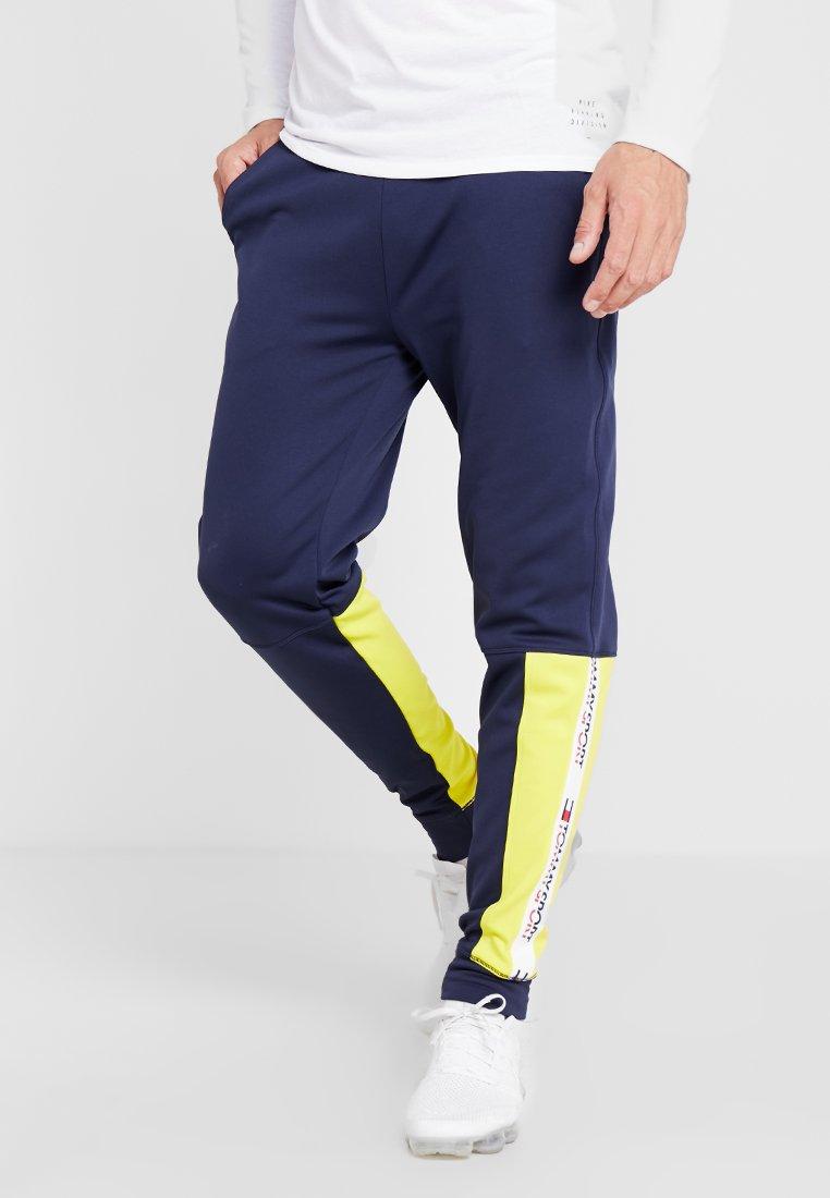 Tommy Sport - JOGGER TAPE - Pantalones deportivos - sport navy