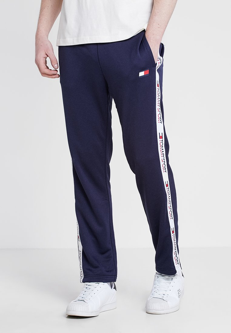 Tommy Sport - TRACK PANT TAPE - Jogginghose - navy