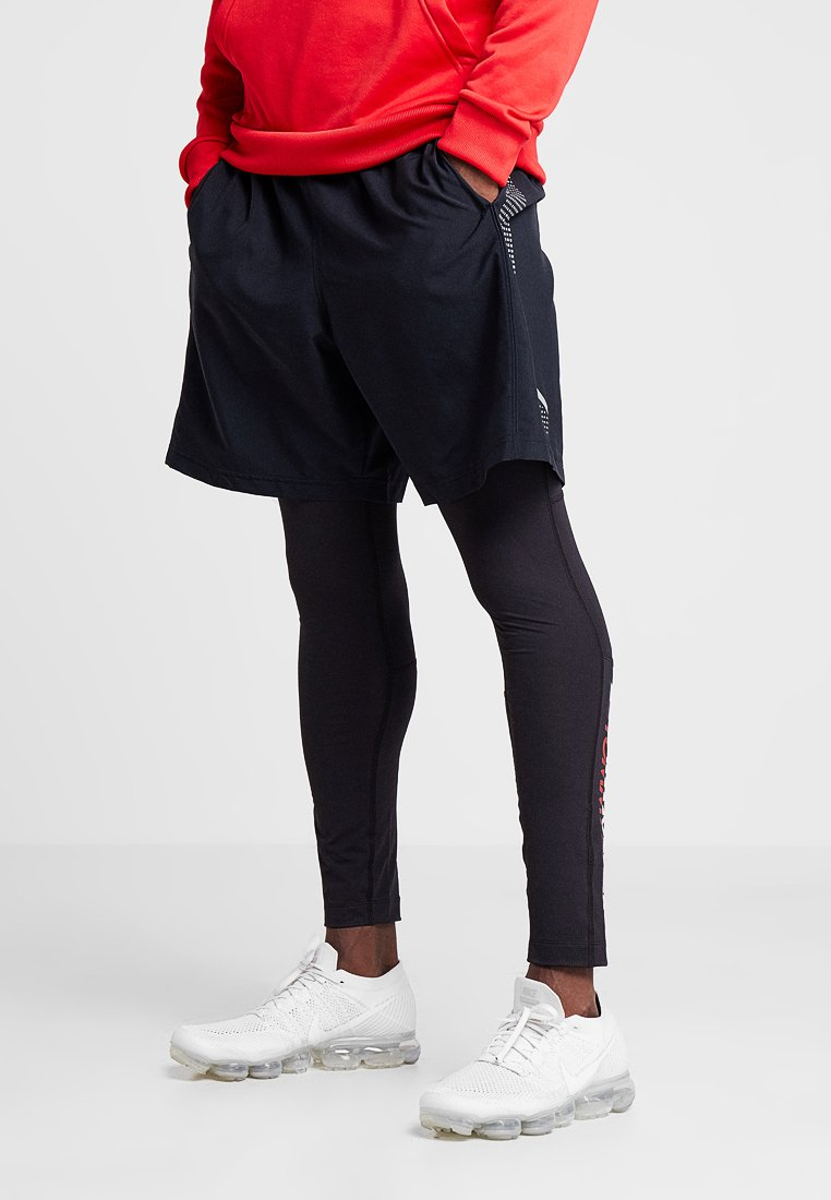 Tommy Sport - LEGGINGS - Tights - black