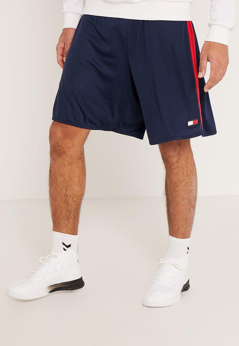 Tommy Sport - SHORTS  - Pantalón corto de deporte - sport navy