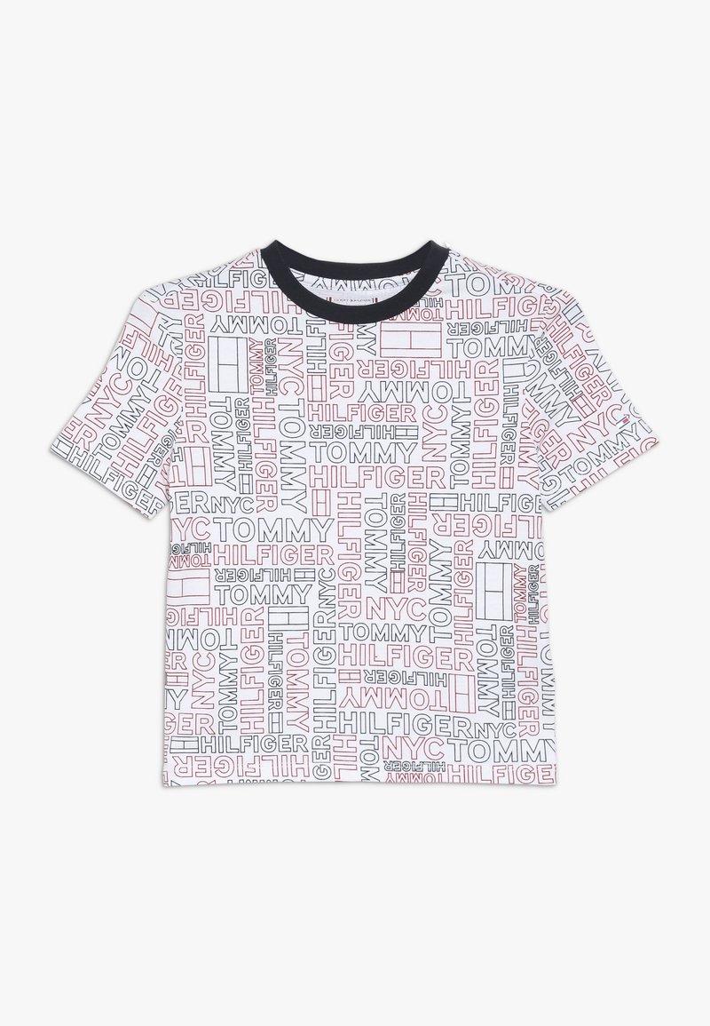 Tommy Hilfiger - SPORT TEE - Camiseta estampada - classic white