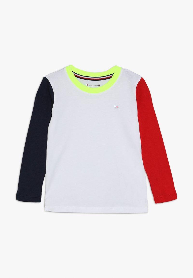 Tommy Hilfiger - SPORT COLORBLOCK TEE  - Camiseta de manga larga - classic white