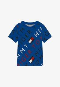 Tommy Hilfiger - SPORTS LOGO TEE - Print T-shirt - blue - 2