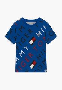 Tommy Hilfiger - SPORTS LOGO TEE - Print T-shirt - blue - 0