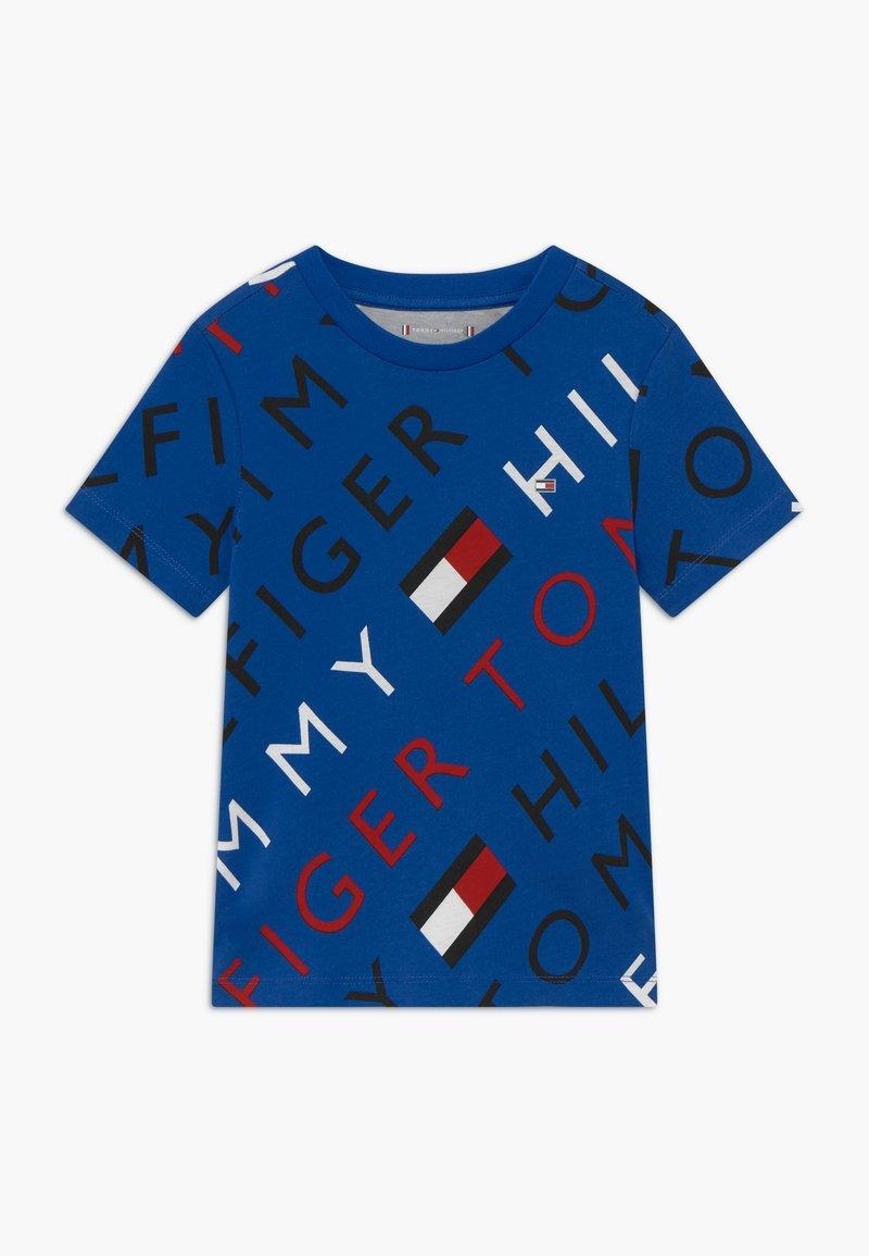 Tommy Hilfiger - SPORTS LOGO TEE - Print T-shirt - blue