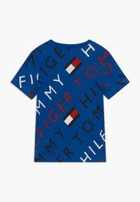 Tommy Hilfiger - SPORTS LOGO TEE - Print T-shirt - blue - 1
