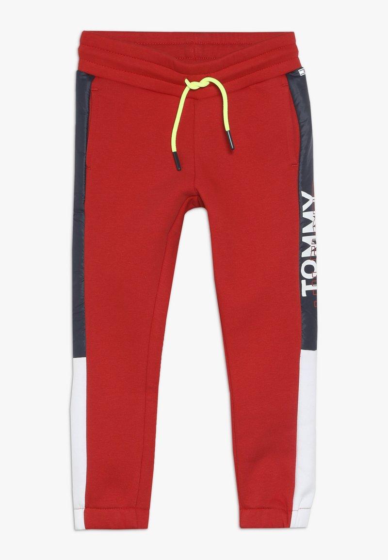 Tommy Hilfiger - SPORT COLORBLOCKPANT - Pantalones deportivos - haute red