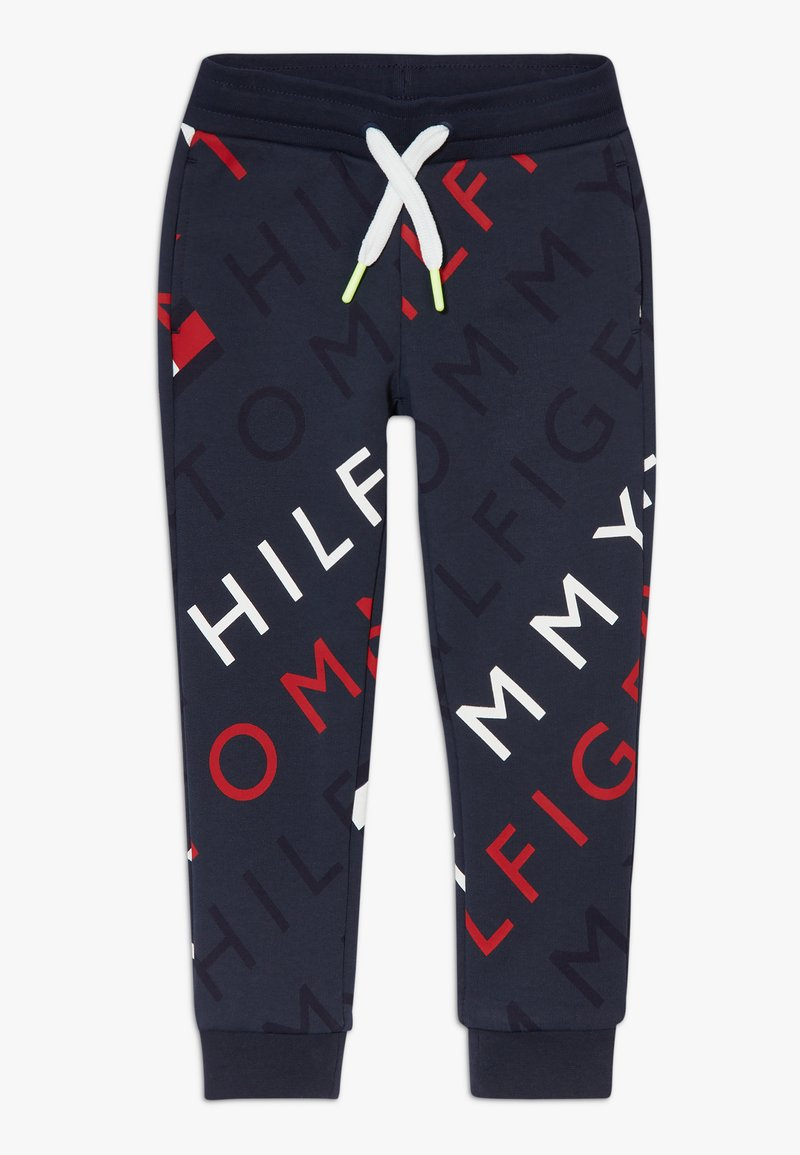 Tommy Hilfiger - SPORTS PRINTED LOGO  - Pantalon de survêtement - blue